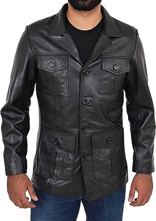 Mens Classic Hunter Jacket Dark Charcoal Grey