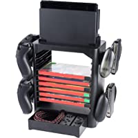 Snakebyte Games Tower - Storage Up to 10 Games + Space for your Switch Accessosieres for Nintendo Switch - Nintendo…