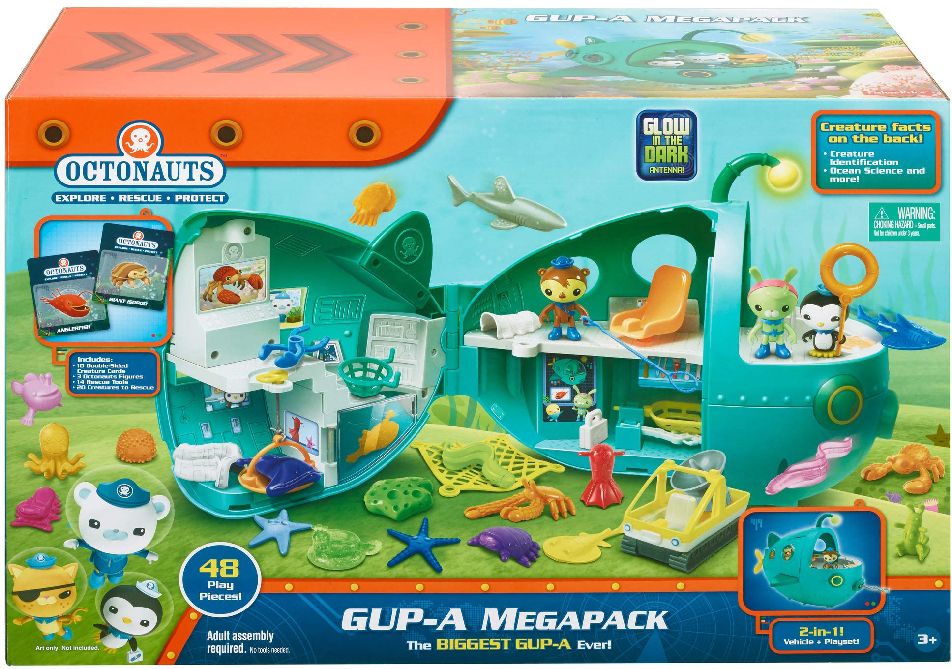 Fisher-Price Octonauts Gup-A Megapack [Amazon Exclusive] by Fisher-Price (Image #5)