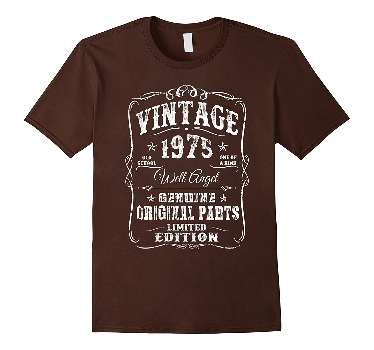 1975 T-Shirt 42th Birthday Gifts 42 Year Old B-day Vintage-Rose