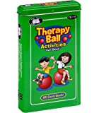 Super Duper Publications   Therapy Ball Activities Fun Deck   Upper Body and Core Strength Flash Cards   Educational Learning Materials for Children