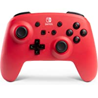 PowerA Enhanced Wireless Controller for Nintendo Switch Red (Only at Amazon)