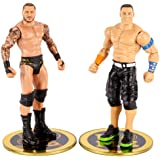 WWE John Cena vs Randy Orton Championship Showdown 2 Pack 6 in Action Figures Friday Night Smackdown Battle Pack for Ages 6