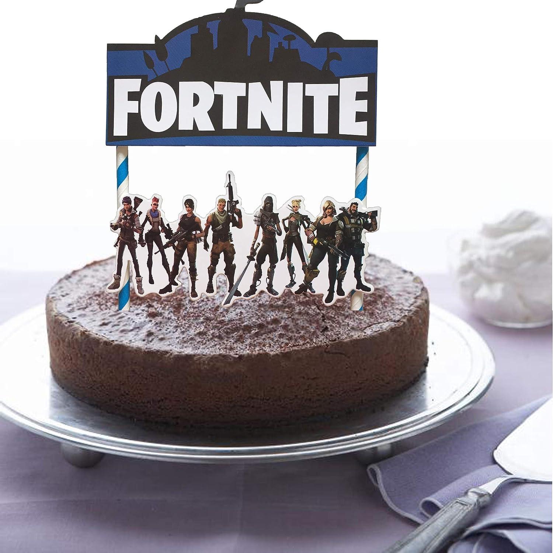 Amazon Fortnite Video Game Cake Topper