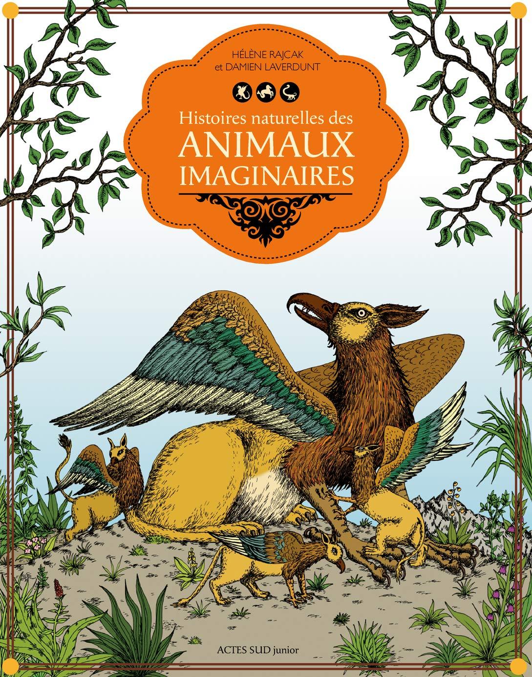 Histoires Naturelles Des Animaux Imaginaires Damien Laverdunt Helene Rajcak Ɯ¬ ɀšè²© Amazon
