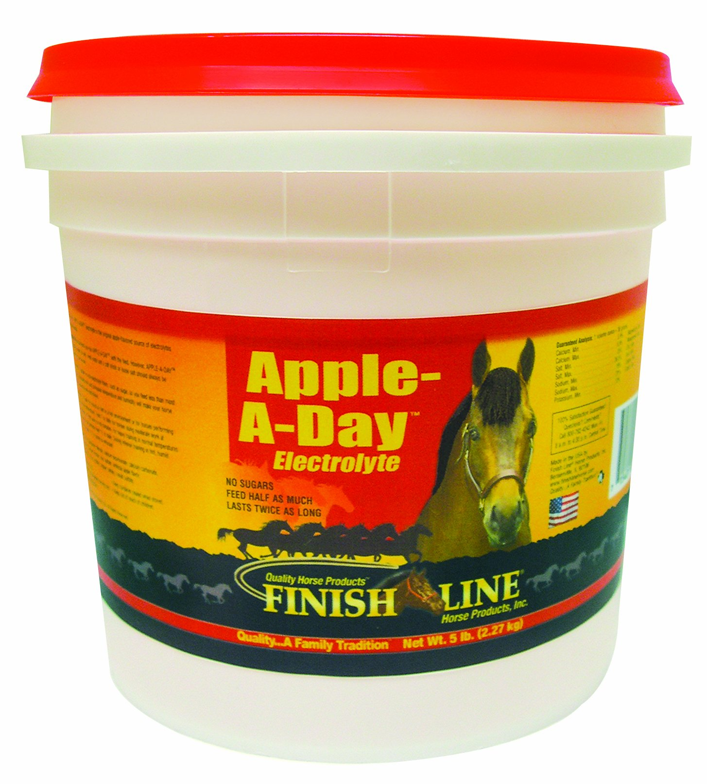 Finish Line Horse Products Apple A Day (15-Pounds) by Finish Line Horse Products (Image #1)