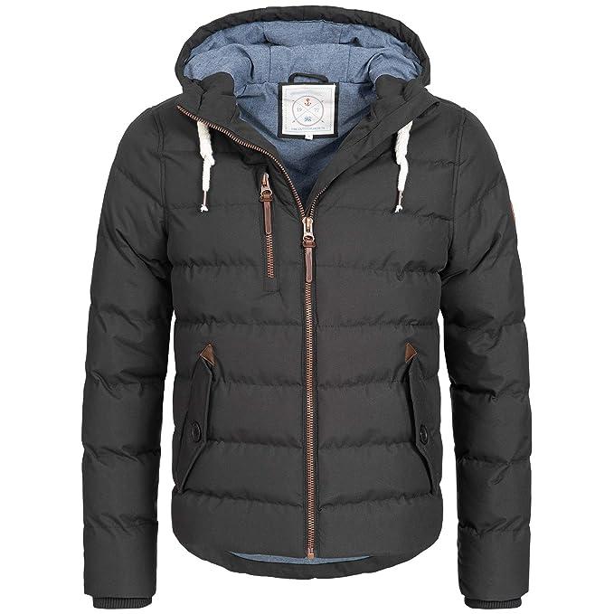 Azuonda Winter Jacke Herren Parka Winterjacke warm gefüttert Kapuze 2 Farben S XXL Az104