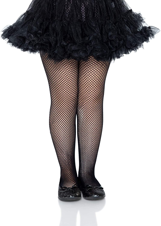 Black Child Tights Girls 4-6 Leg Avenue Enchanted Costumes Halloween Pantyhose