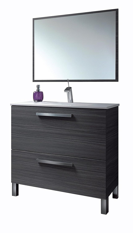 13Casa Atena C3 - Set mobile bagno + specchio. Dim: 80x45x80 h cm ...