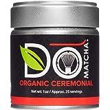 DoMatcha - Organic Ceremonial Green Tea Matcha Powder, Natural Source of Antioxidants, Caffeine, and L-Theanine, Promotes Foc