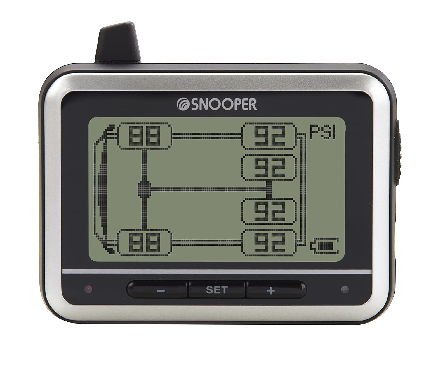 Tyre Pilot STP 116 Tyre Pressure Monitoring System with 6 Sensors