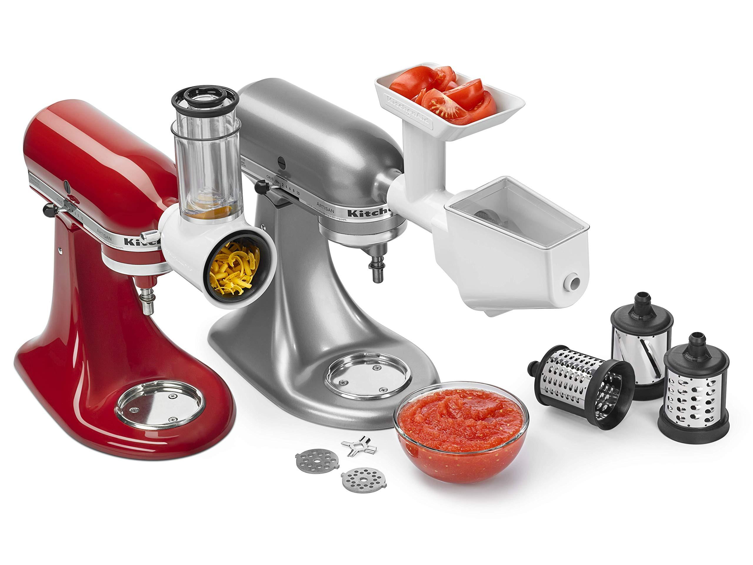 KitchenAid KSMFPPA Mixer Attachment Pack, White by KitchenAid