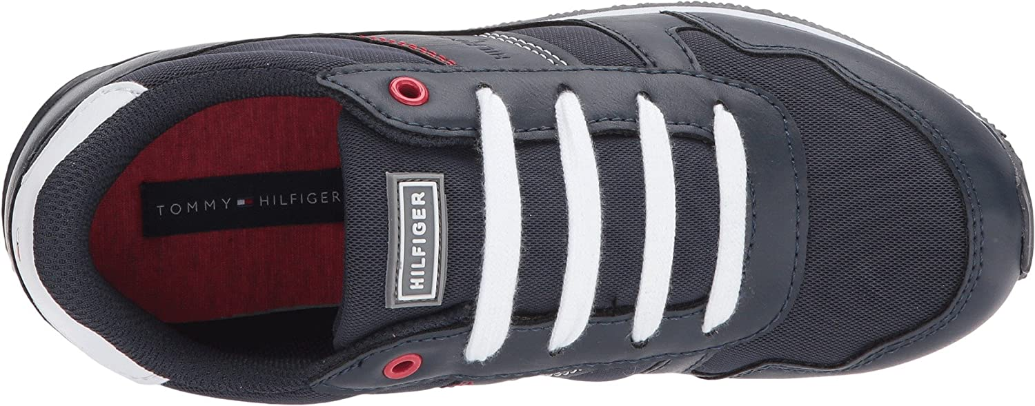 Amazon.com | Tommy Hilfiger Kids Unisex Albe Jogger (Little Kid/Big Kid) | Sneakers