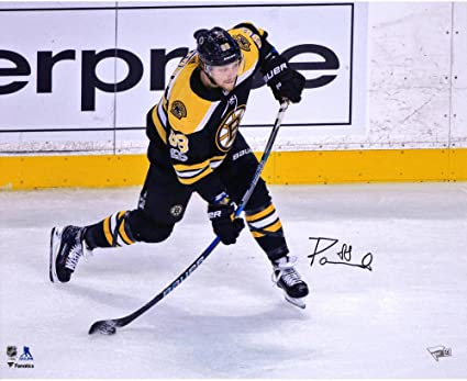 size 40 56886 cdb7e David Pastrnak Boston Bruins Autographed 16
