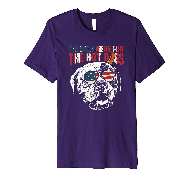 American Bulldog Shirt Funny Patriotic BBQ Tee-Art
