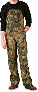 product image for Round House Mossy Oak Hardwoods Non-Insulated Camo Bib Overall - Made in USA (Camo 32W x 34L)