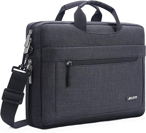 "Notebooktasche 15,6/"" Zoll Laptoptasche Schultertasche Umhängetasche Dual-Use"