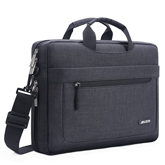Review MOSISO Polyester Messenger Laptop