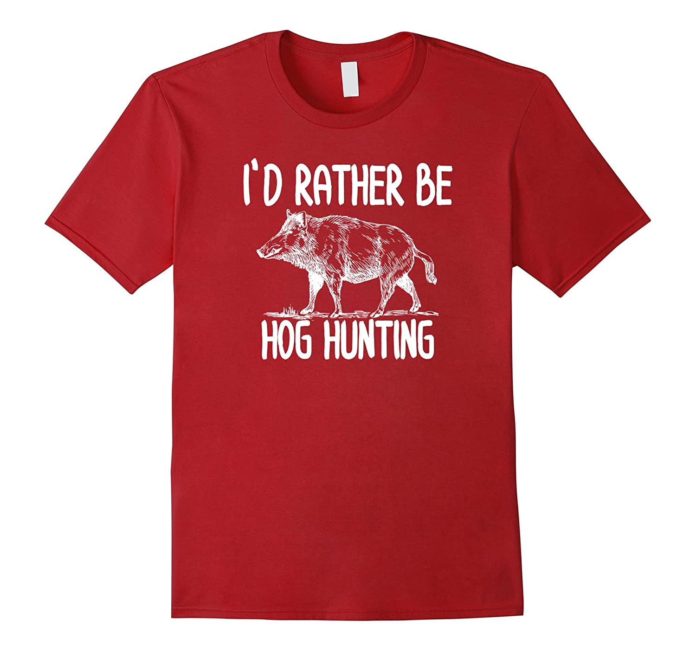 c08dcb8efc2f7 Hog Hunter Boar Hunting T-Shirts Outdoor Funny T-Shirts-ANZ ⋆ Anztshirt