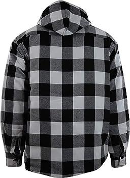 Amazon.com: Camisa y chaquetas de franela de manga larga ...
