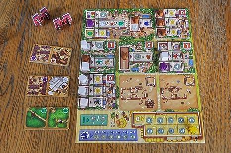 TCG Factory- FERTILITY Juego de mesa en español para toda la familia. 2 a 4 jugadores. ¡Viaja al antiguo Egipto y crea la ciudad más eficiente con este eurogame de iniciación!: Amazon.es: