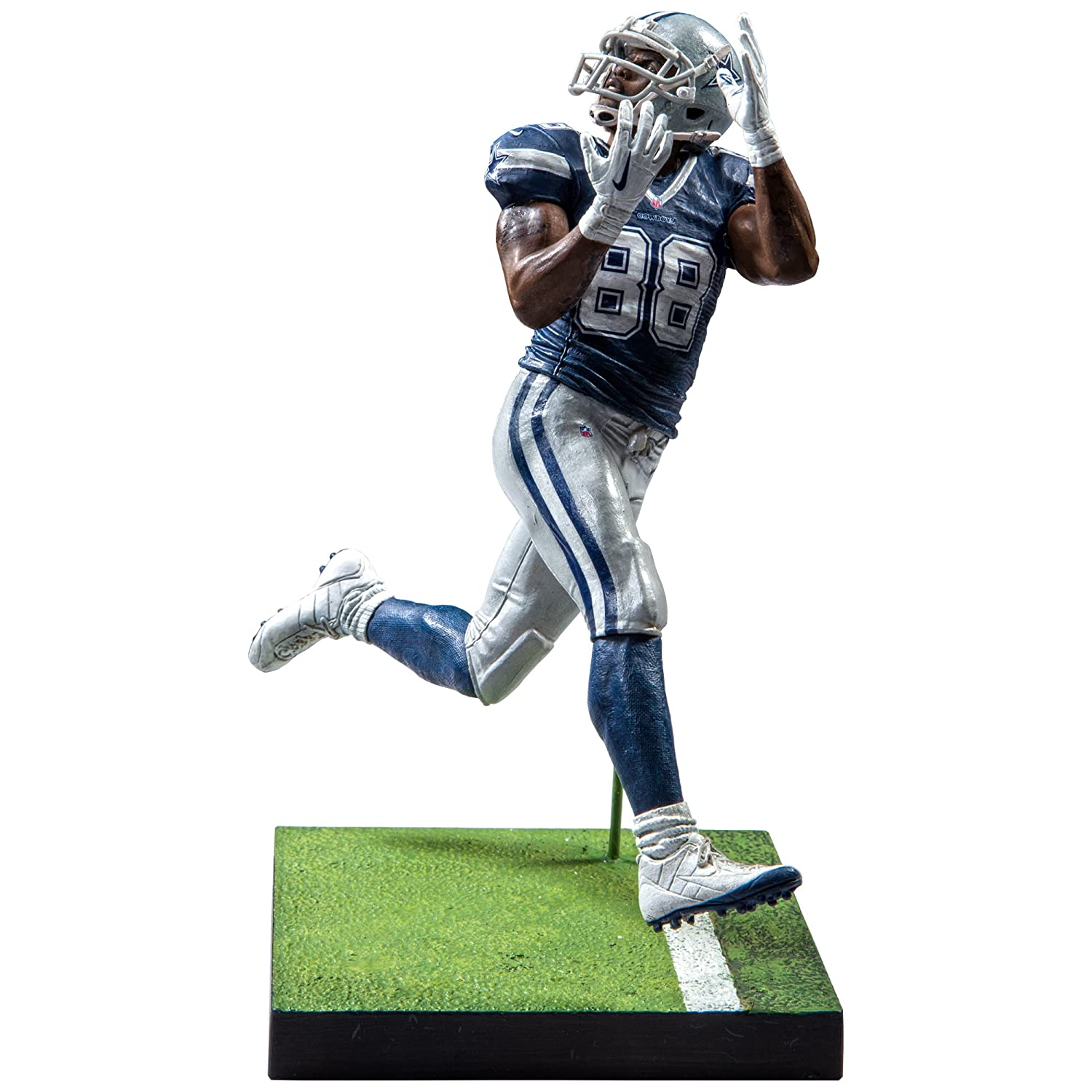 Dallas Cowboys, Dez Bryant Madden NFL 17 Series 3 Ultimate Team Figure Mcfarlane Toys 75716-3