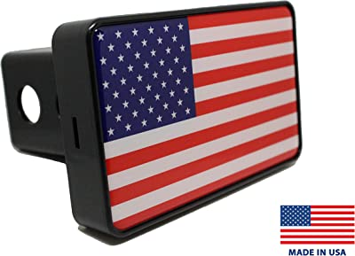 Bright Hitch – American Flag Hitch Cover