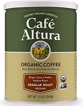 Cafe Altura Ground Organic Coffee