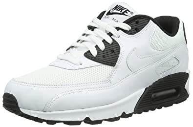 new arrival 8a535 2253c NIKE Mens Air Max 90 Essential Low-Top Sneakers, Multicolor (BlackWhite