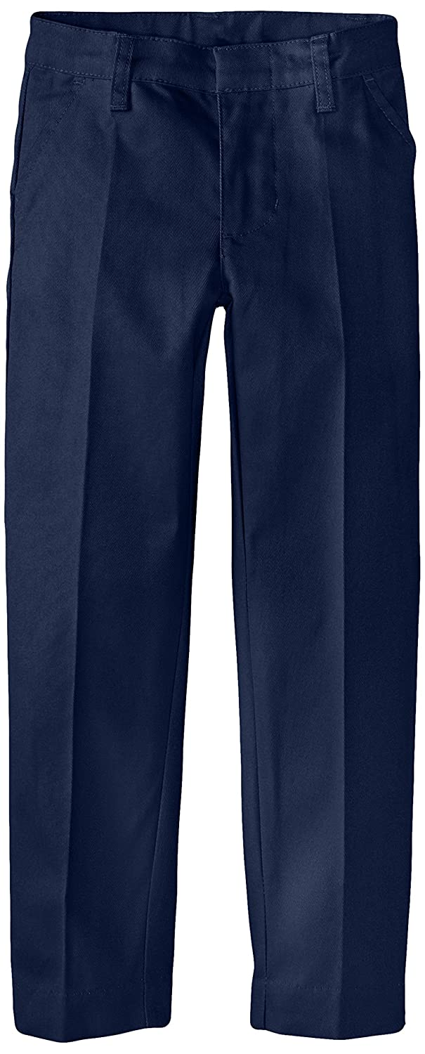 Smith's American Girls' Flat Front Straight Leg Twill Pant IB58