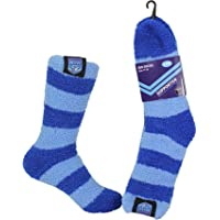 NRL NSW State of Origin Comfortable Soft Feel Supporter Bed Socks womens size