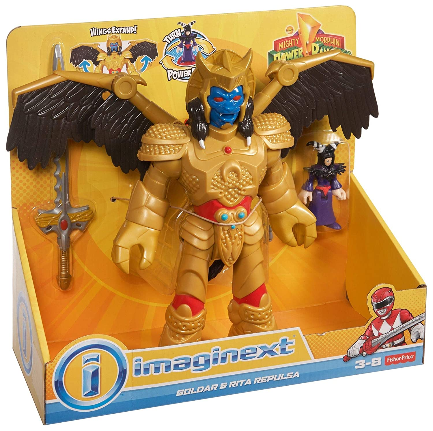 Fisher-Price Imaginext Power Rangers Goldar and Rita Fisher Price CJP65