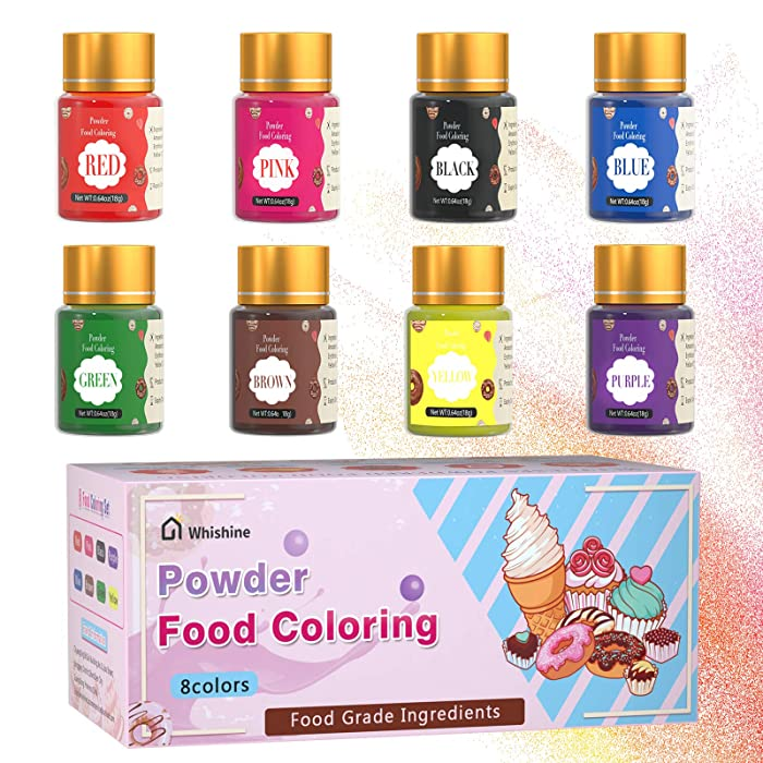 Top 9 Powdered Food Color Kit