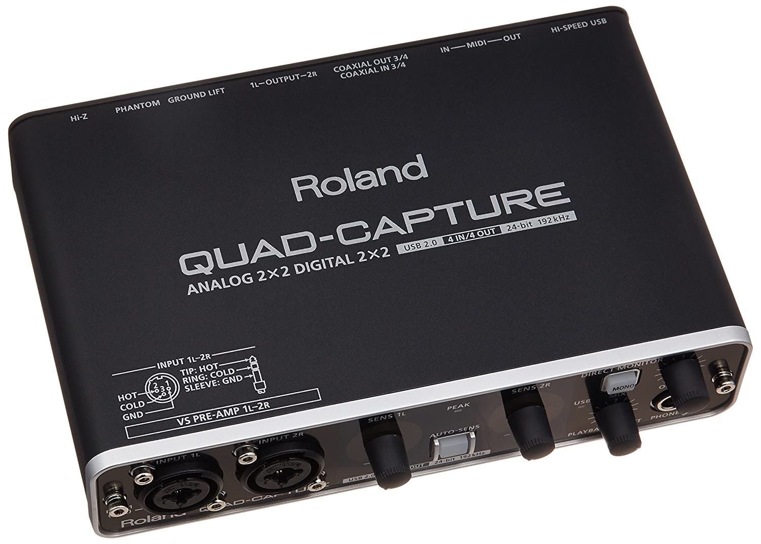 Roland Quad-Capture UA55 Audio Interface: Amazon.co.uk: Musical