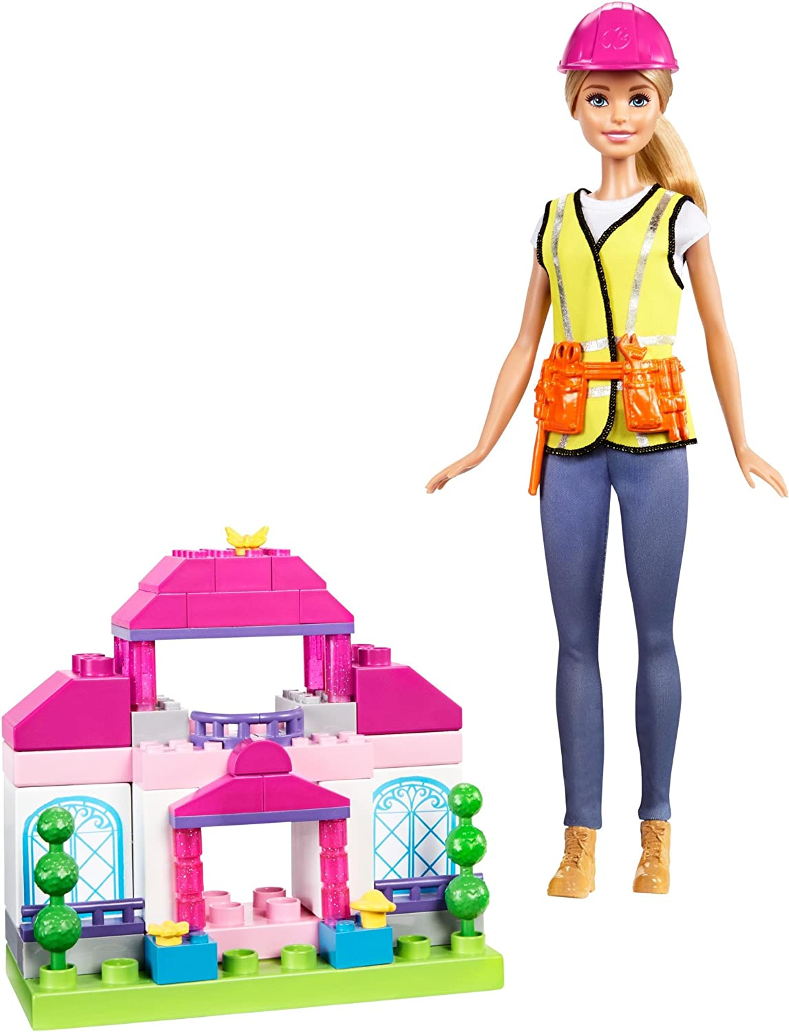 2016 New Tree House set Barbie Builder Doll Play set by Mattel