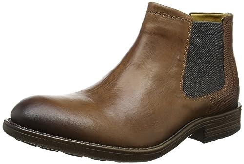camel active Men's Taylor 18 Chelsea Boots, Brown (Brandy 02), 7.5 UK