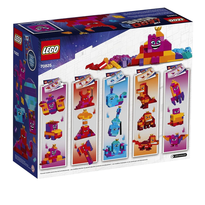 Amazoncom Lego The Lego Movie 2 Queen Watevras Build Whatever Box