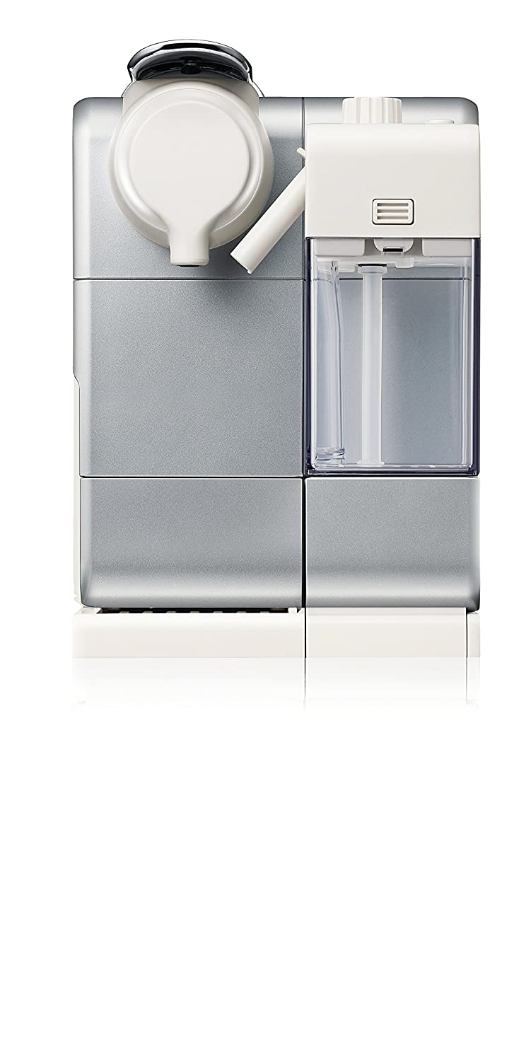 Nespresso Lattissima Touch Original Espresso Machine with Milk Frother by De'Longhi, Frosted Silver