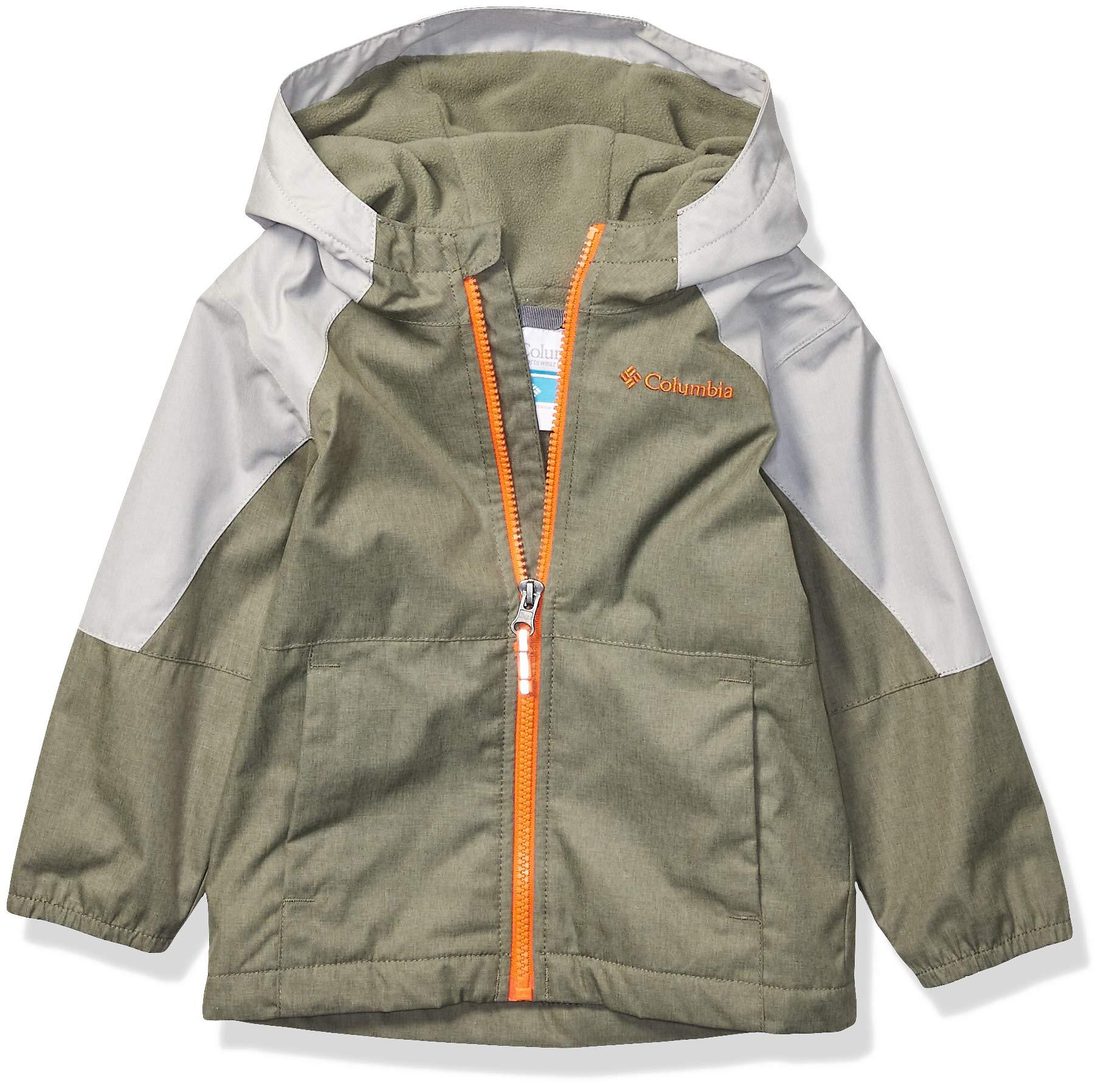 Columbia Boys' Toddler Endless Explorer Jacket, Cypress Colm Grey Heather, 3T