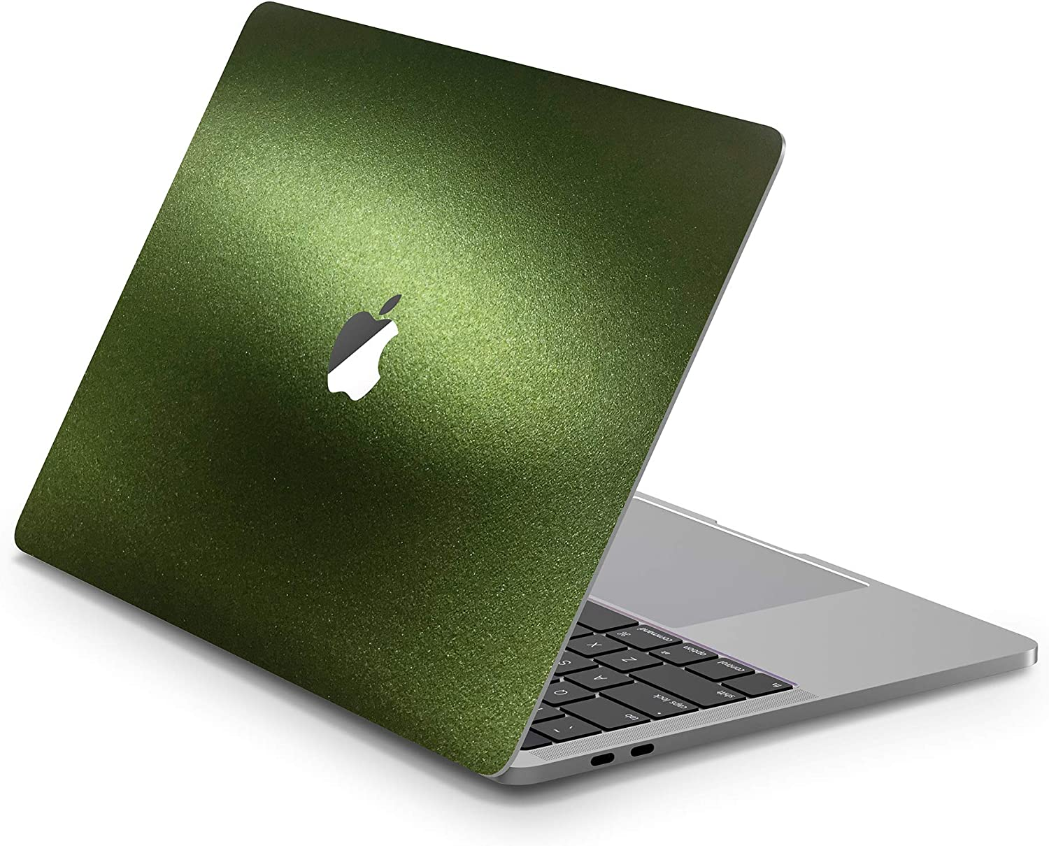TIMOCY Notebook Computer Full Body Protector Skin Decal Sticker for MacBook Pro 13 Inch (Model:A2159/A1706/A1708/A1989),Easy Apply Full Body Protective Vinyl Skin,Glossy Brilliant goldGreen