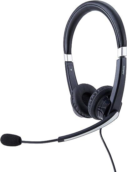 Amazon Com Jabra Uc Voice 550 Ms Duo Lync Optimized Corded Headset For Softphone Electronics