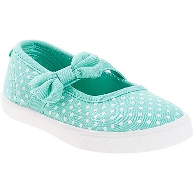 Amazon.com: Los niños y bebé Correa o empate Dotted Zapatos ...