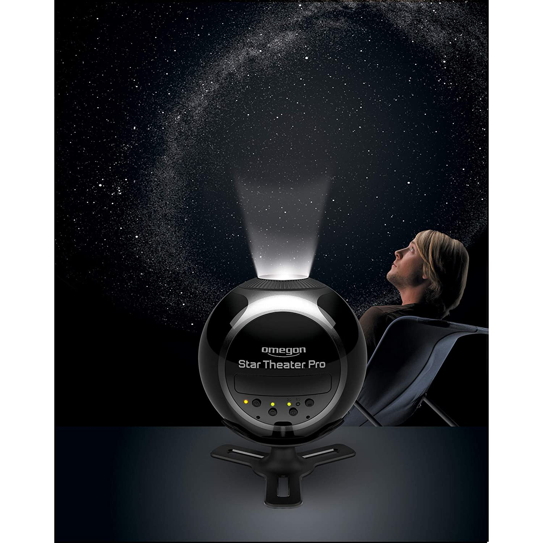 Omegon Star Theater Pro Planetarium Home Planetarium Projecteur pour Enfants et Adultes Projecteur LED Star pour Constellation /& Cosmos Projection