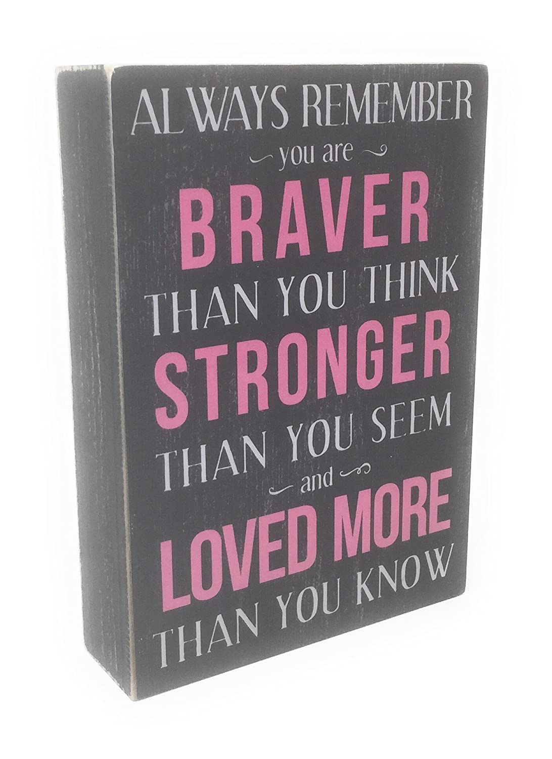 """""""Always Remember"""" Box Sign - 7 x 5 Inches model"""