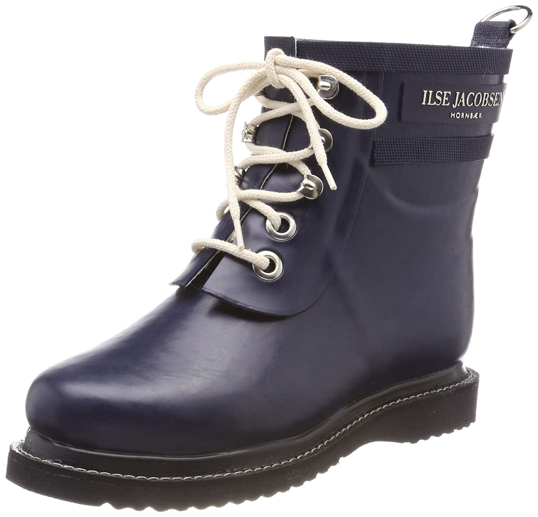 ILSE JACOBSEN Women's Rub 2 Rain Boot B01C5DNIDA 37 M EU|Dark Indigo