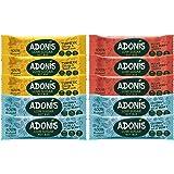 Adonis Low Sugar Barritas de Nuez con Poco Azúcar - Selección Mixta | 100% Natural, Baja en Carbohidratos, Sin Gluten, Vegano, Paleo (10)