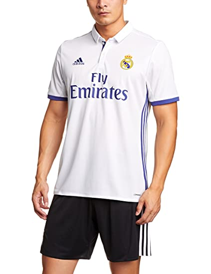 Amazon.com   adidas Real Madrid 2016 17 Home Shirt   Sports   Outdoors c036d341cbc