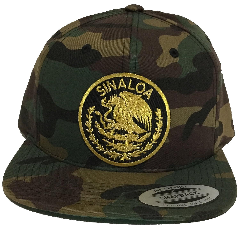 d1245d94209 Capsnmore sinaloa mexico logo federal hat camo snapback at amazon men  clothing store jpg 1500x1438 Sinaloa