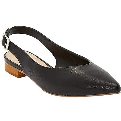 a2b259cb3f3 Ellos Women s Plus Size Slingback Flats - Black