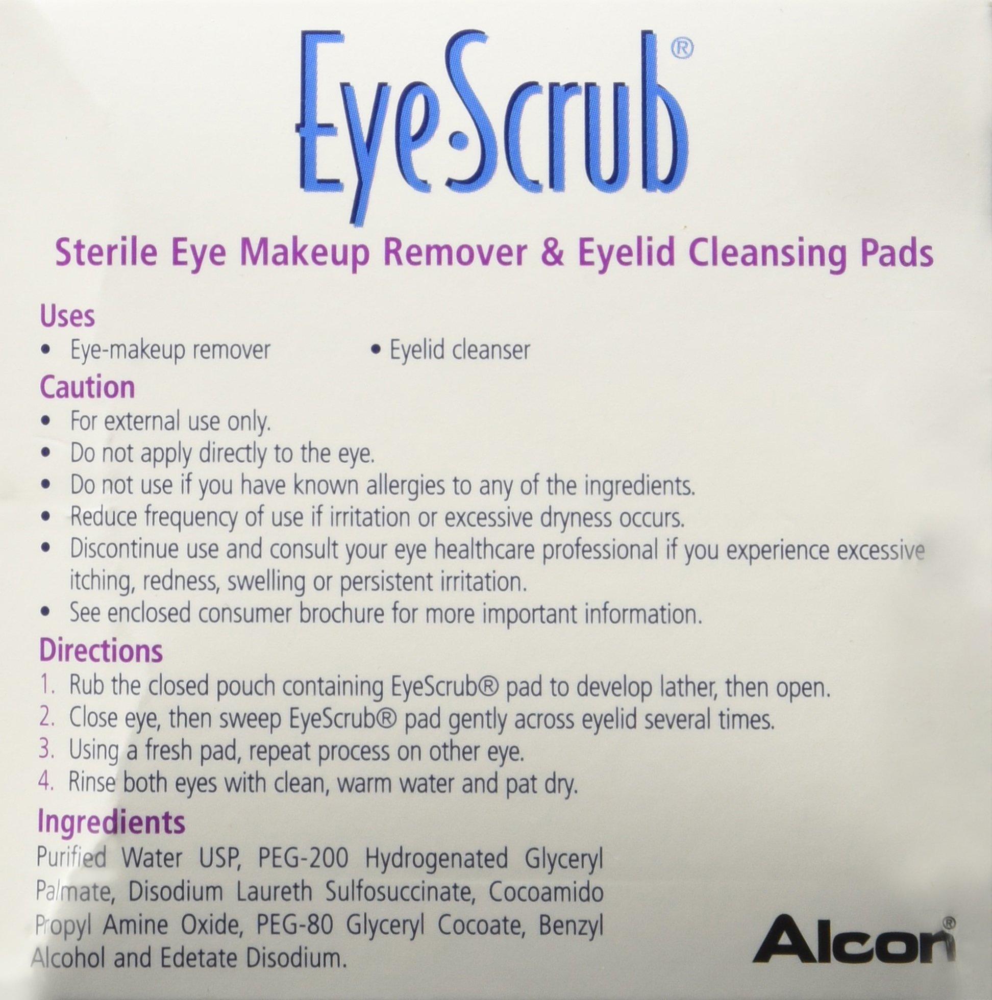 Novartis Eye-Scrub Pre-Moistened Pads by Novartis (Image #3)